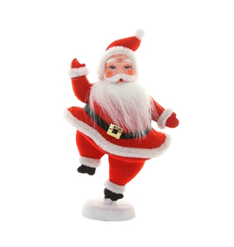 Ornaments Retro Santa Figure