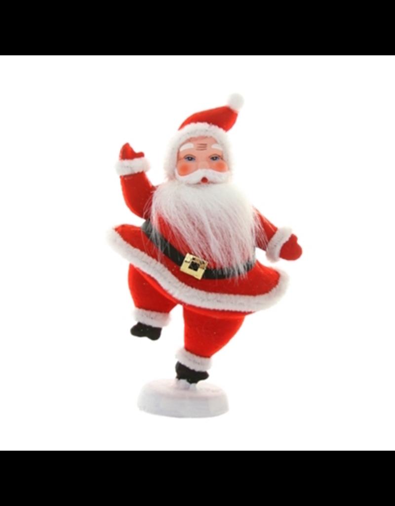 Ornaments Retro Santa Figure