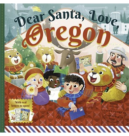 Books - Kids Dear Santa, Love Oregon