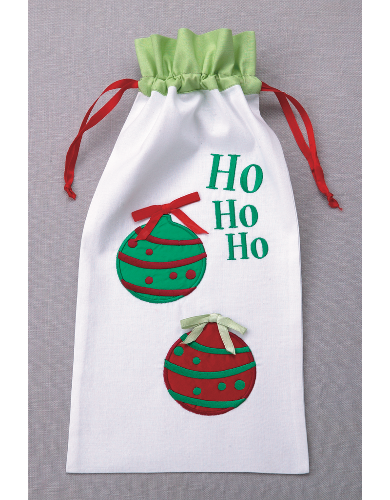 Wine Bags HO HO HO Wine Bag