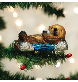 Ornaments Floating Otter Ornament