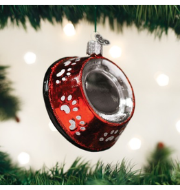 Ornaments Dog Bowl Ornament