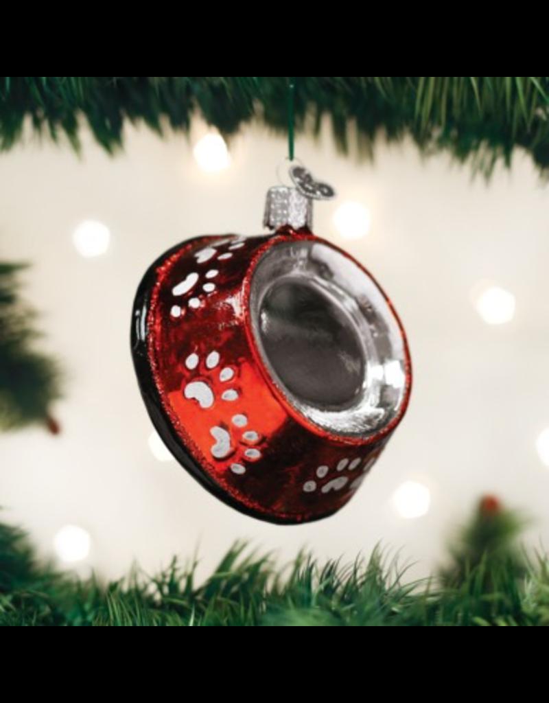 Ornaments Dog Bowl Ornament