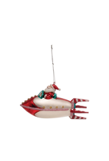 Ornaments Santa Rocket Ornament