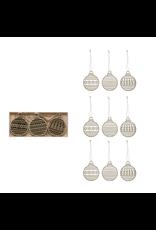 Ornaments Laser Cut Wood Ornament Set