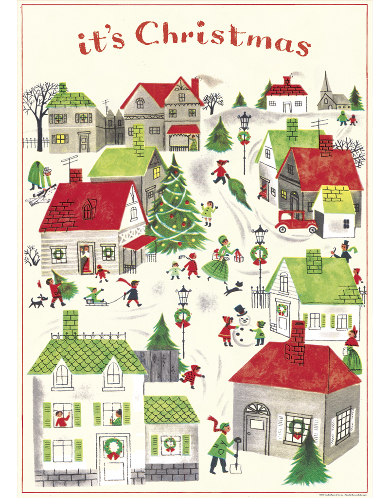 Gift Wrap It's Christmas Wrap