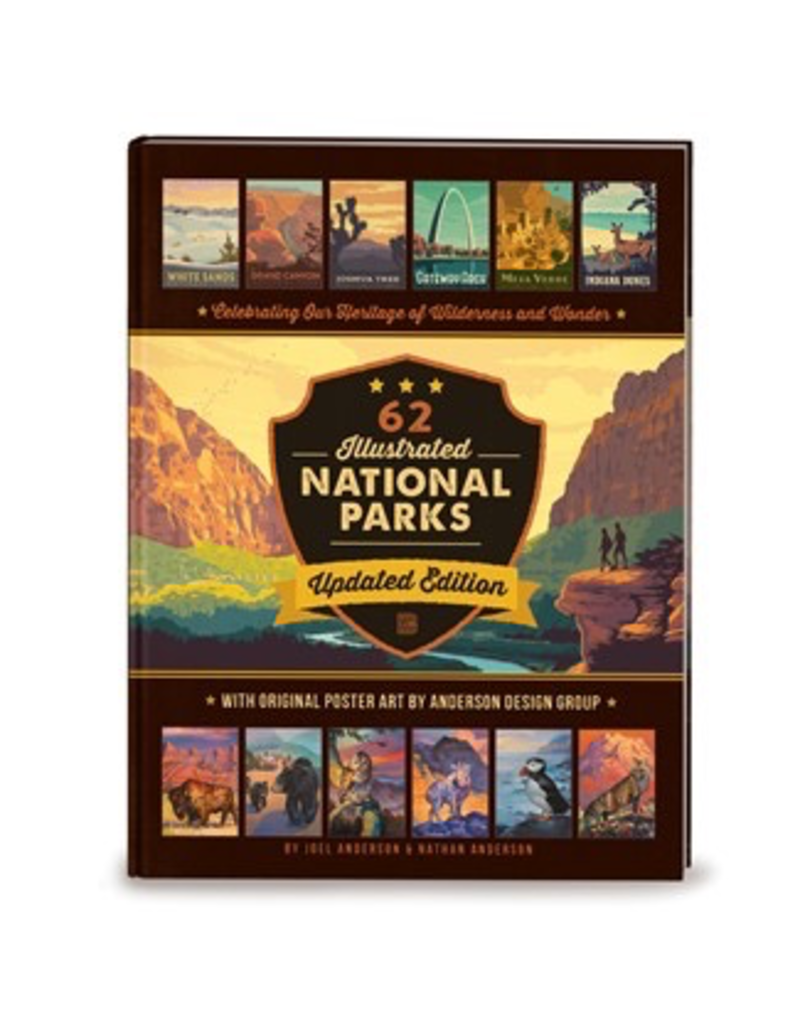 Books - Outdoors National Parks Updated Edition Book