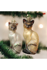Ornaments Siamese Cat Ornament