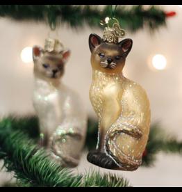 Ornaments Siamese Cat Ornament