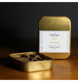 Incense Pine + Leather Incense