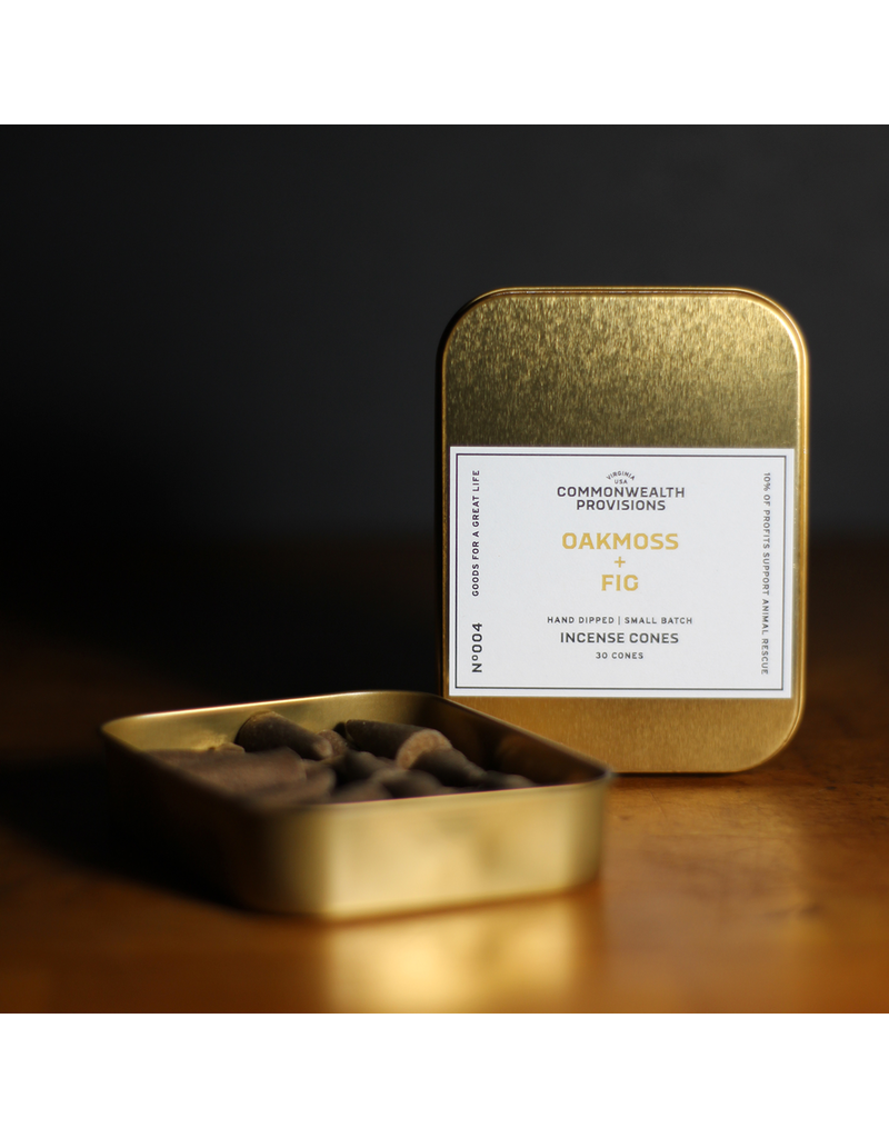 Incense Oakmoss + Fig Incense