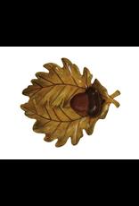 Serveware Leaf & Acorn Serving Platter