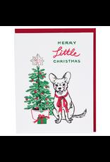 Greeting Cards Chihuahua Christmas Single Card