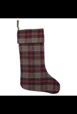 Stockings Vintage Plaid Stocking