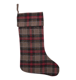 Stockings Vintage Plaid Stocking