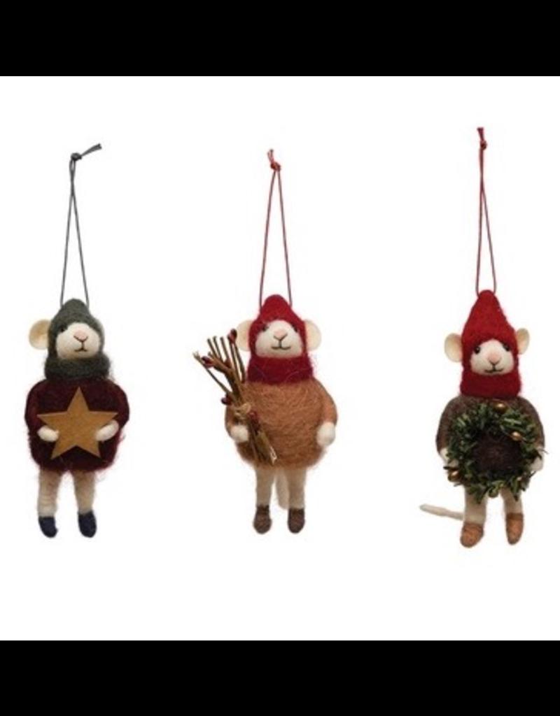 Ornaments Winter Mouse Ornaments