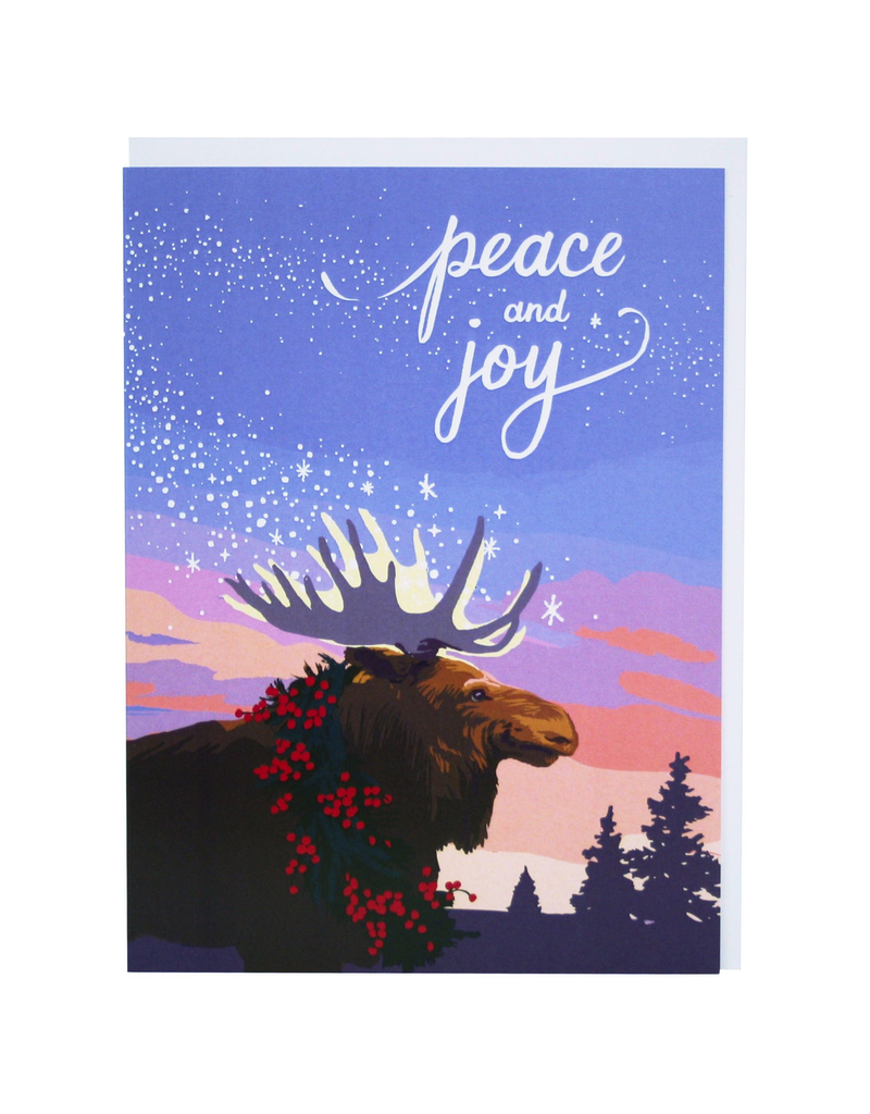 Greeting Cards - Boxed Moose Peace & Joy Set of Cards