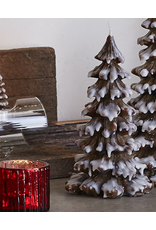 Candles - Novelty Snowy Tree Candle