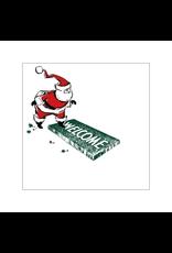 Paper Disposable 1964 Welcome Santa Beverage Napkins