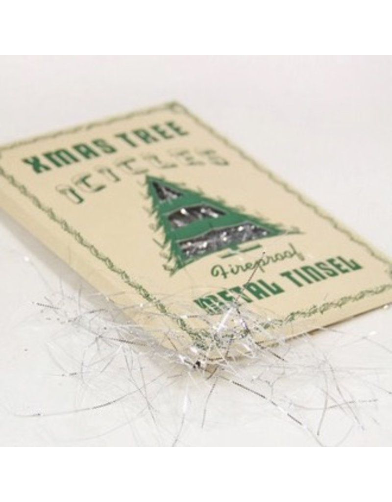 Ornaments Vintage Icicle Tinsel