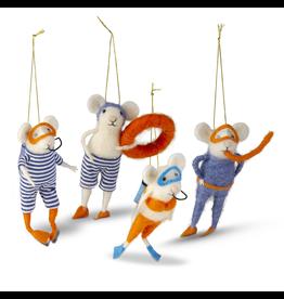 Ornaments - Felt Sea Mice Ornaments