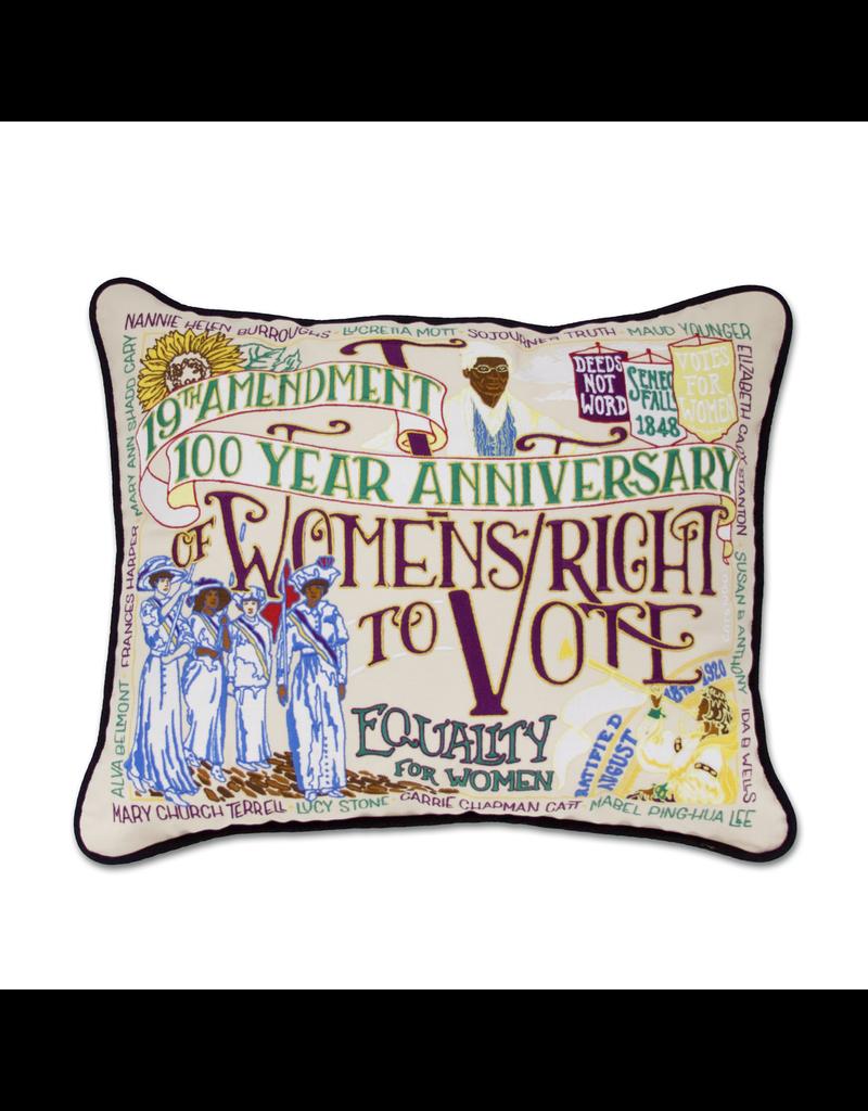 Pillows - Embroidered 19th Amendment Pillow