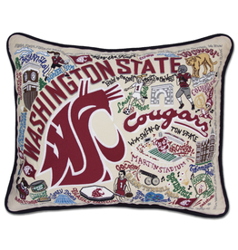 Pillows - Embroidered Washington State University Pillow