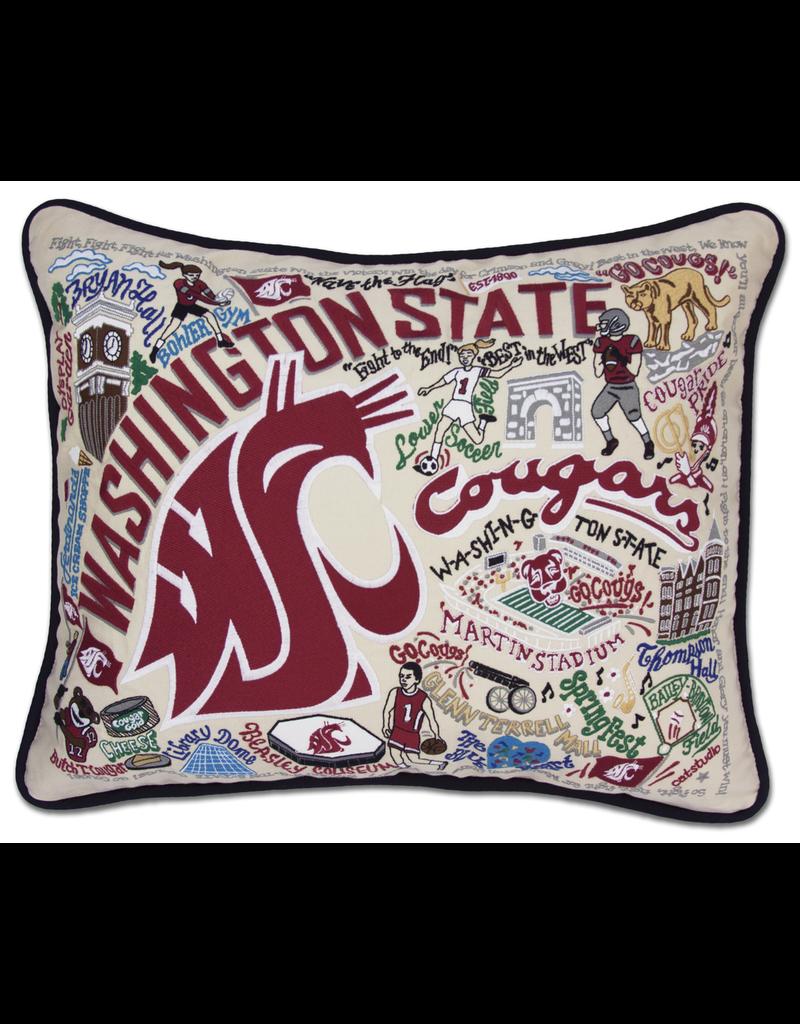 Pillows - Embroidered Washington State University Pillow
