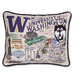 Pillows - Embroidered University of Washington Pillow