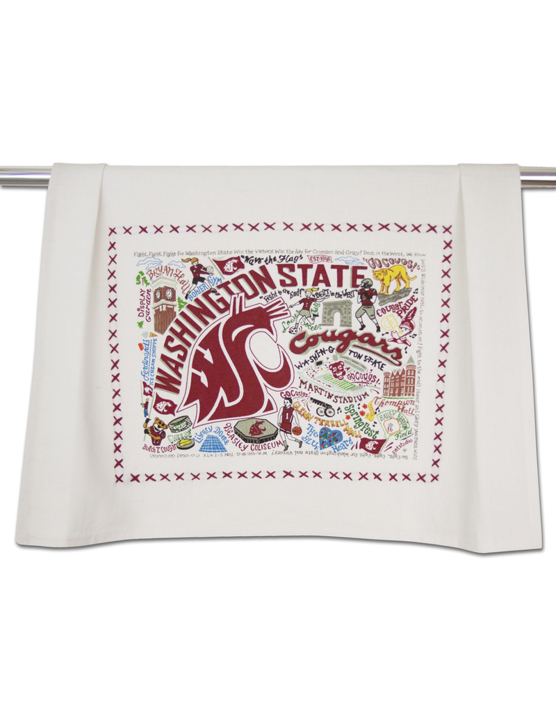 Tea Towels Washington State University Dish Towel