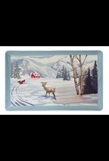 Serveware PBN Winter Scene Platter