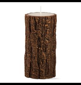 Candles - Novelty Tree Bark Tall Pillar