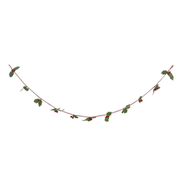 Garland Holly With Berries Garland