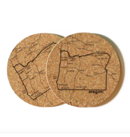 Coasters Oregon Cork Coaster