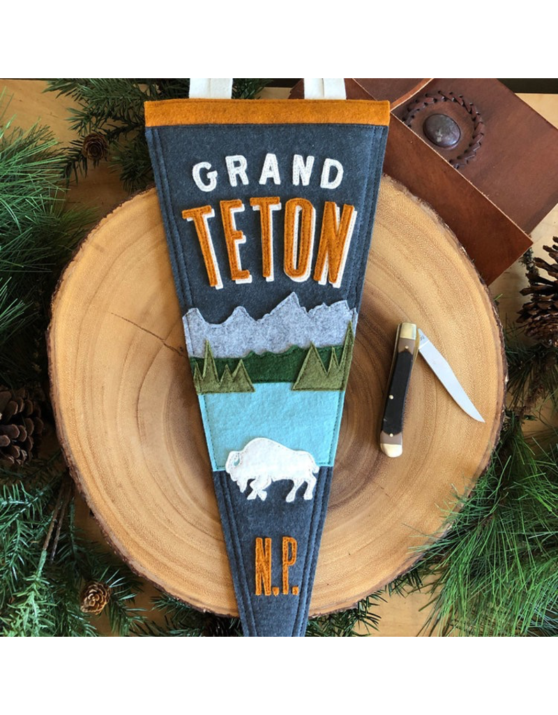 Pennants Grand Teton Handmade Pennant