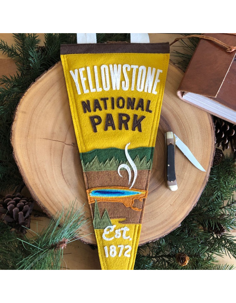 Pennants Yellowstone Handmade Pennant