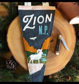 Pennants Zion Handmade Pennant