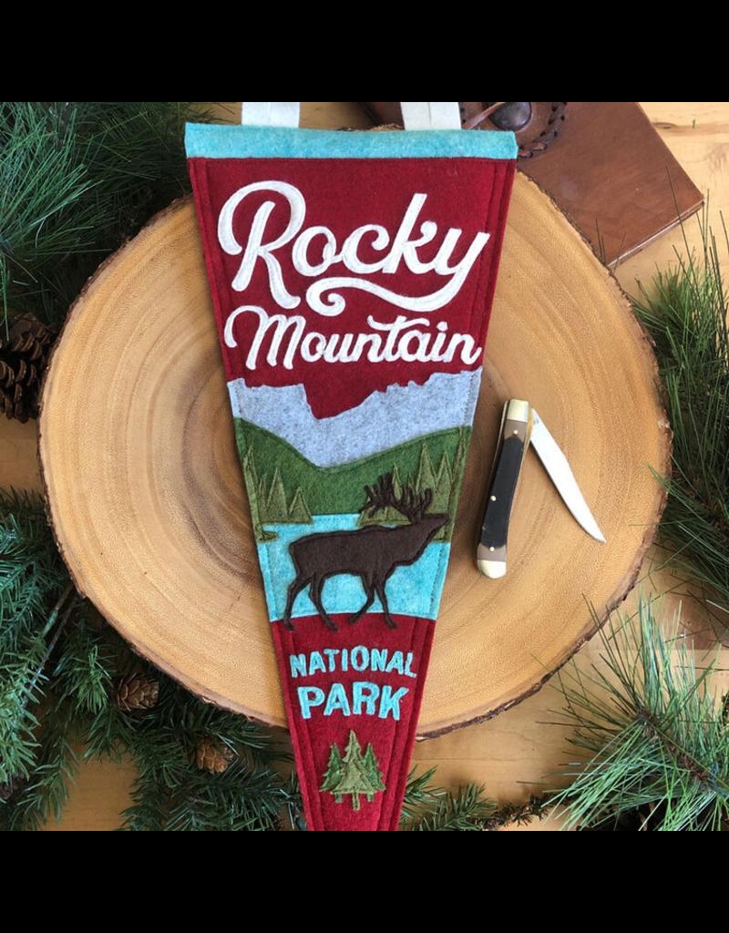 Pennants Rocky Mountain Handmade Pennant