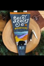 Pennants Great Smoky Mountains Handmade Pennant