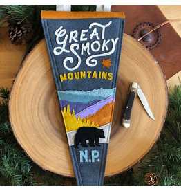 Pennants Great Smoky Mountains Handmade Pennant