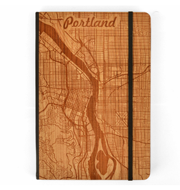Journals Portland City Map Notebook