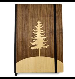 Journals Tree Wood Notebook