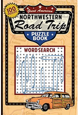 Books - Games NW Road Trip Puzzle Word Search Book