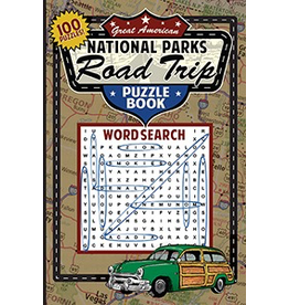 Books - Games National Parks Road Trip Puzzle Word Search Book
