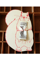 Greeting Cards - Love Nuts For You Squirrel Card