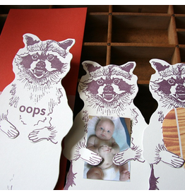 Greeting Cards - General Oops Raccoon Card