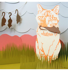 Greeting Cards - General Whatever Cat Card