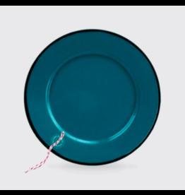 Enamelware Indigo Enamel Plate
