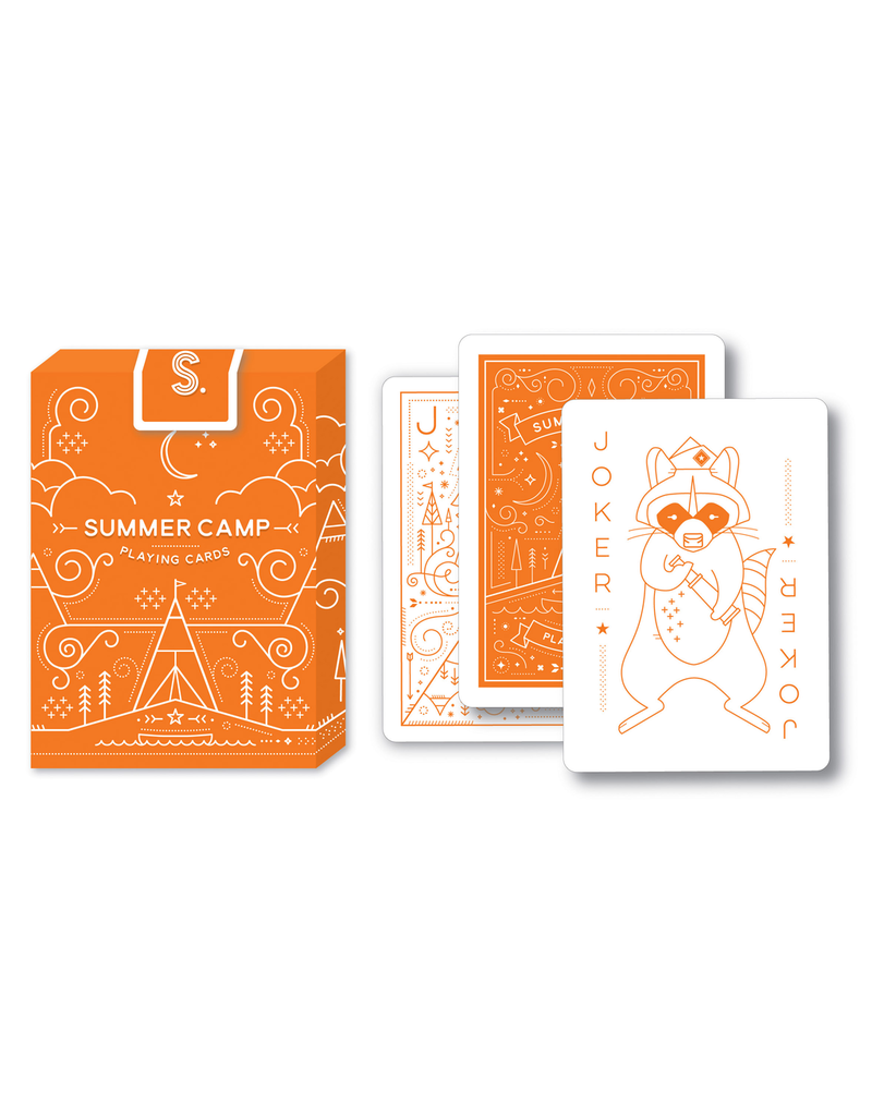 Playing Cards Summer Camp Playing Cards