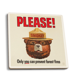 Coasters Smokey Bear Coaster